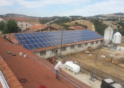 our solar panel in Italy